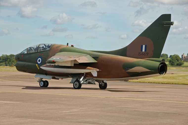 Greek_Air_Force_LTV_TA-7G_Corsair_II_departs_RIAT_Fairford_14thJuly2014_arp.jpg